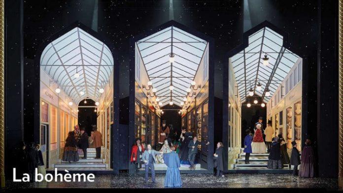 La boh?me at the Lyric Opera