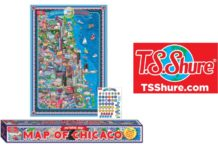 Pictorial Map T.S. Shure