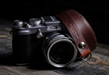 McMurray & Blonde - Camera Strap - Quincy Street - Chicago Tan Horween Leather