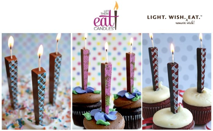 L:et Them Eat Candles - edible candles