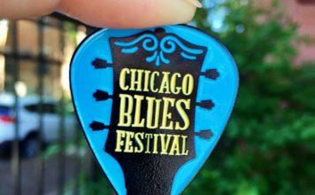 Big League Pins - Chicago Blues Festival pin