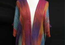 Threadings Handwoven Designs - Technicolor Dream Shawl
