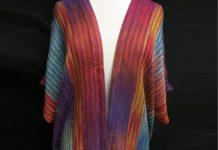 Threadings Handwoven Designs - Technicolor Dream Shawl