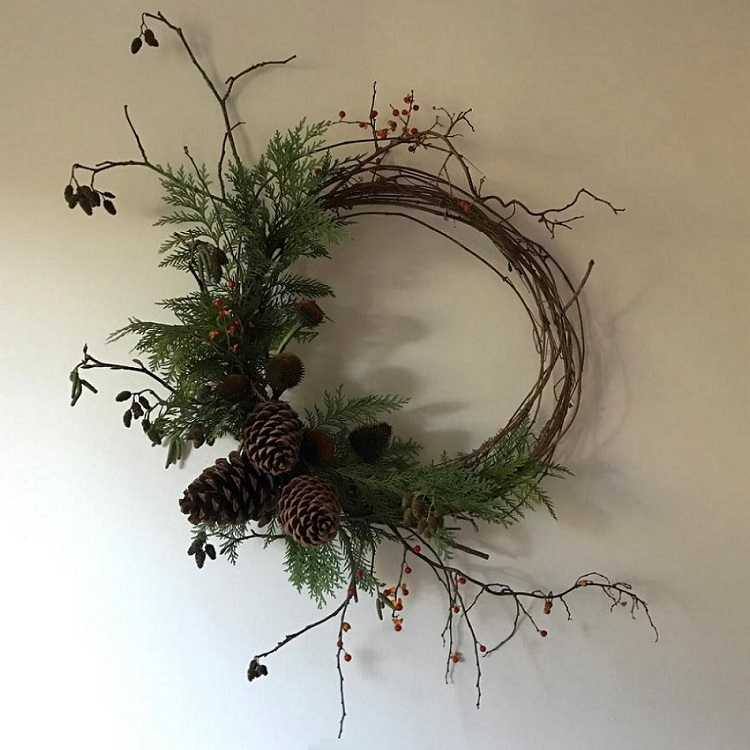 Holiday Wreath Making Class with Cornell Florist