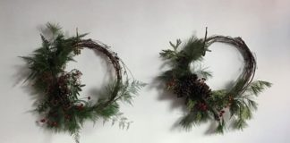Holiday Wreath Making with Cornell Florist - Chicago Artisan Market