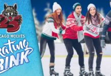 Chicago Wolves Skating Rink