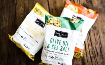 The Safe & Fair Food Company - Popcorn Quinoa Chips