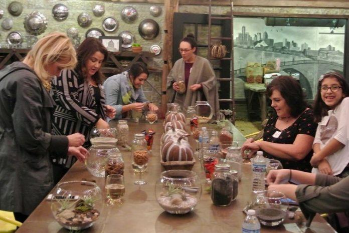 Leelee's Garden - DIY Gemstone Terrarium Class