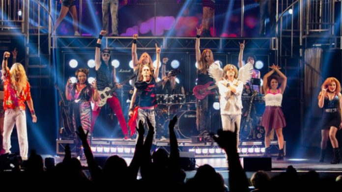 Rock of Ages at the Nederlander Theatre