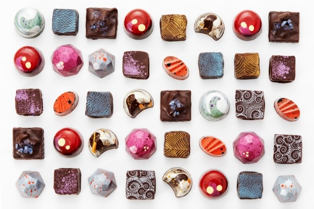 Veruca Chocolates - Assorted, Mulit-Colored Chocolates