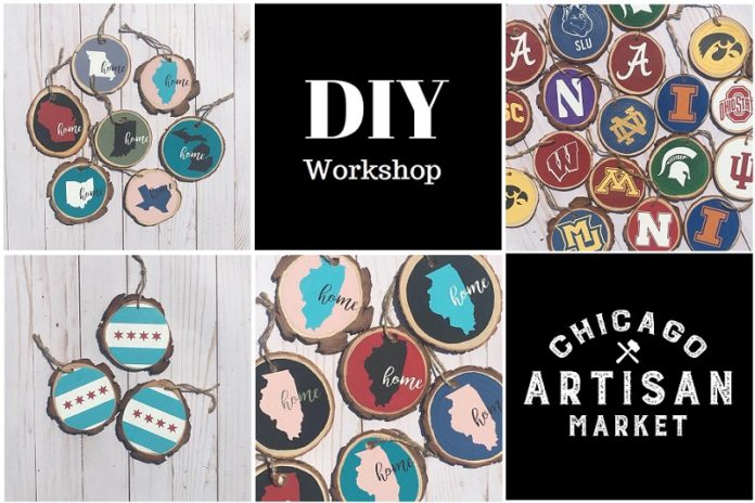 Tree Ornament Making DIY Class at Chicago Artisan Market