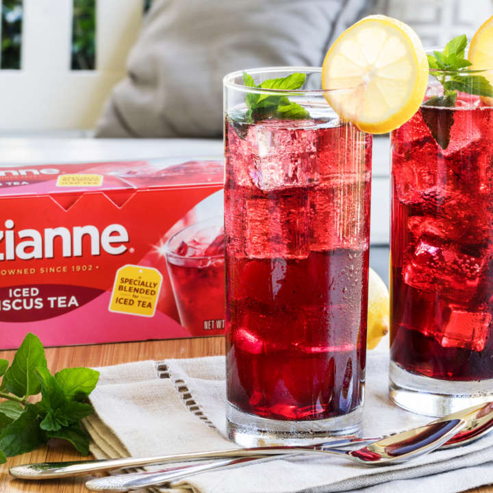 Pitcher of Luzianne[R sub] Hibiscus Iced Tea