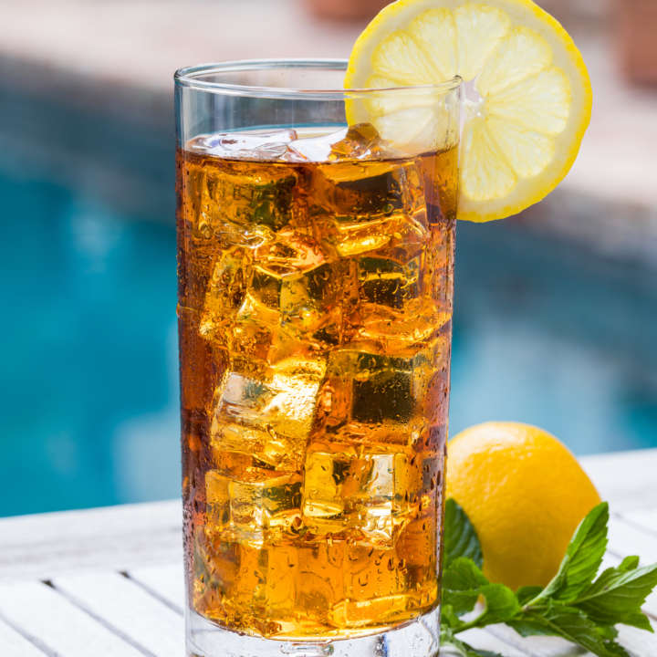 Glass of Luzianne[R sub] Iced Tea