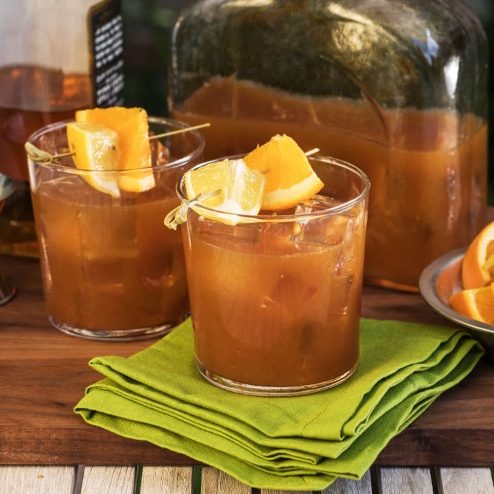 Bourbon Iced Tea Punch