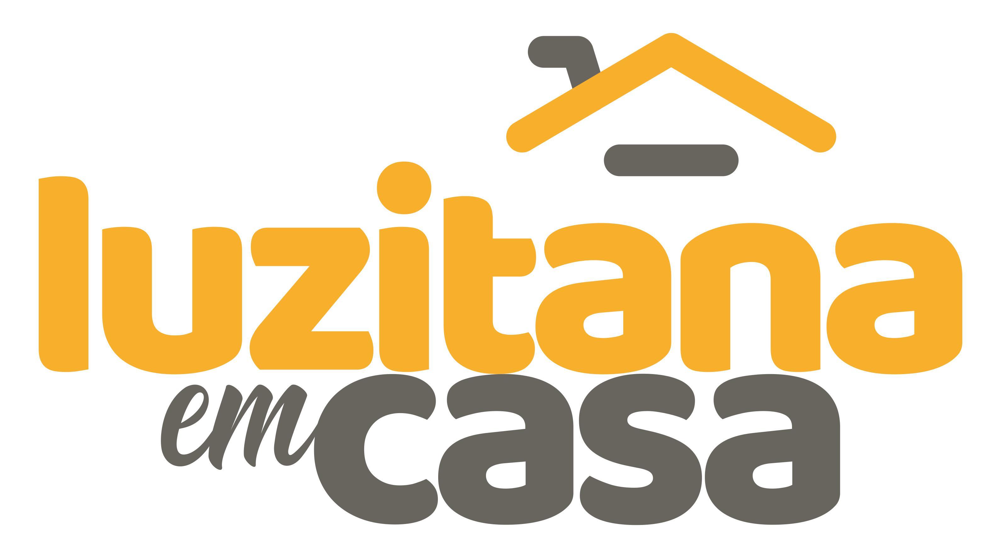 Logo do Luzitana em Casa - O Supermercado Online de Cacoal
