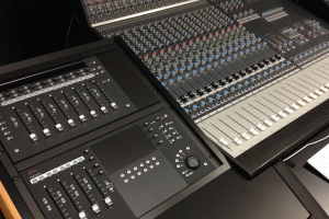 Studio B in Blair Music Center is a multitrack recording and sound design studio