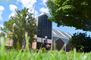 Frederic K. Miller Chapel is located in the academic quad at Lebanon Valley College