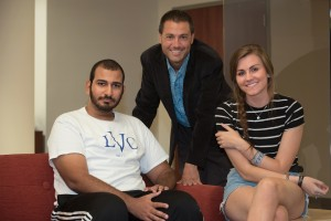 Amr Hassanein, a history major, is the third brother in his family to attend LVC