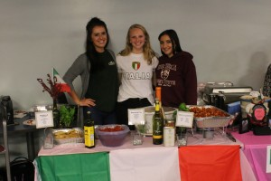 Students participate in the Global Education Club's annual International Food Festival