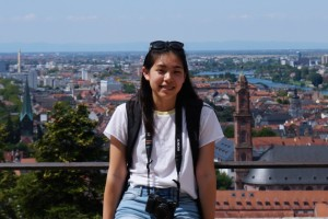 Allison Liu studies abroad in Germany