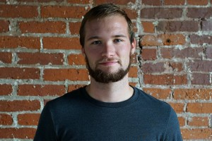 Zach Beidler, a digital communications graduate, now works at Greenfish Labs