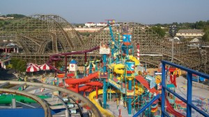 Hershey is home to the famous amusement park, Hersheypark