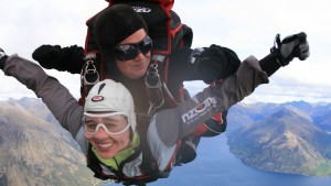 LVC students go skydiving in New Zealand