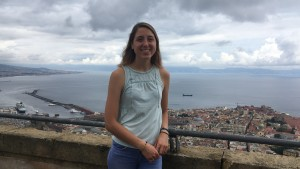 Hannah Kurek traveled to Italy to teach English at a local middle school as part of an Arnold Grant.