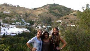 LVC study abroad students explore Spain