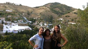 LVC students explore the area in Spain