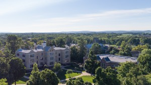 A view of the academic quad at Lebanon Valley College
