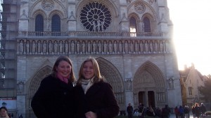 LVC students take in the sights in France