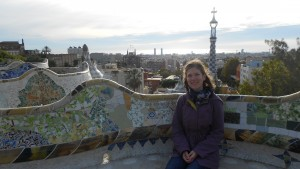 Katie Ulrich participates in the Spain study abroad program