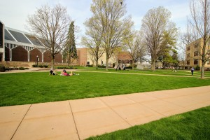 View of the Academic Quad at Lebanon Valley College