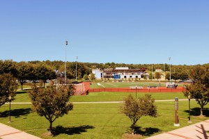 A view of Arnold Field on Lebanon Valley College's North Campus