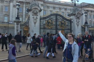 Cassidy DeCosmo takes in the sights while studying abroad in England