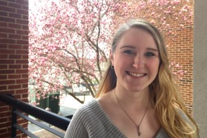 Katie Hockenbury will study in the United Kingdom as a Fulbright Scholar
