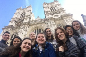 LVC Religion 140 students visit England for a Spring Break trip