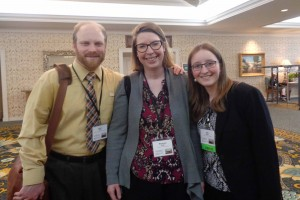 Lebanon Valley College student Julia Wiker attends a conference related to archives and libraries