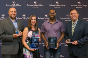 Lebanon Valley College recognized four alumni during the annual awards luncheon
