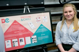 Digital Communications created an entertainment discovery app, Discover & Chill, that was presented at inquiry