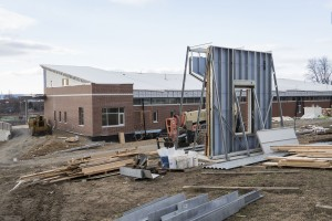 Arnold Health Professions Pavilion construction