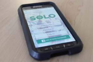 LVC Digital Communications students created a personal safety mobile application called SOLO