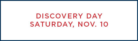 Discovery Day on November 10