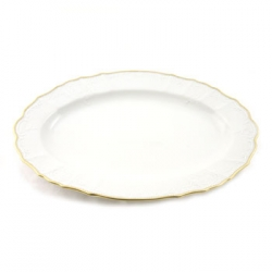 Simply Anna Gold Oval Platter