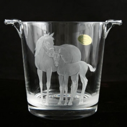 Mare and Foal Small Ice Bucket