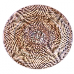 Rattan Round Plate Charger