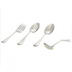 Classic English Stainless Four Piece Hostess Set