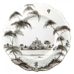 Country Estate Flint Scalloped Salad/Dessert Plate