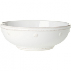 Berry & Thread Whitewash Coupe Pasta Bowl